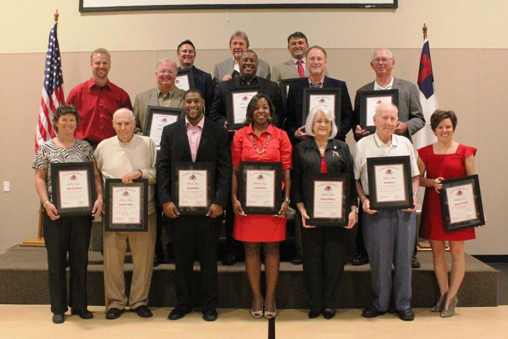 2013-14 Athletic Hall of Fame Inductees